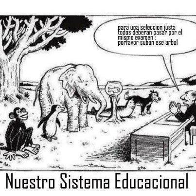 Sistema educación tradicional